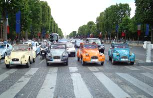 Discover Paris in a Retro 2 CV Car – 45 Minute Tour
