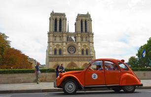 Discover Paris in a Retro 2CV Car – 90-minute tour