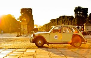 Discover Paris in a Retro 2 CV Car  – 3-hour tour