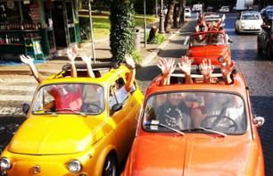 Tour of Rome in a Fiat 500 Convoy: Must-see sites & lesser-known gems