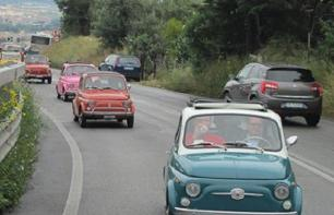 Excursion from Rome in a Fiat 500 Convoy & Swimming in Lake Bracciano