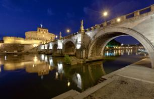 Rome by Night: Bus Tour of Rome & Traditional Dinner