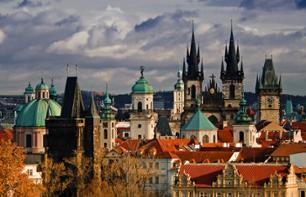 Guided Tour of Prague by Foot, Tram and Boat–Lunch Included