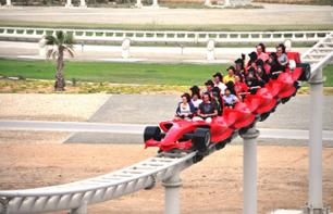 Excursion to the Ferrari World theme park in Abu Dhabi + Return transport from Dubai