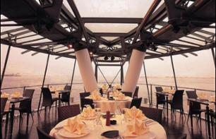 Dinner Cruise in Dubai on a Luxurious Glass Canopy Boat