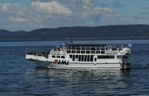 Whale observation cruise - Departing from Rivière-du-Loup