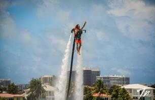 Jetpack & Flyboard Sessions with a Cruise in Miami Bay