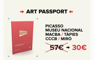 Barcelona Art Passport – Skip-the-line entry to 6 museums and art foundations
