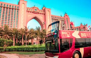Visit Dubai by Open-Top Bus: Hop-on, Hop-off tour - 1, 2 or 5 day Pass