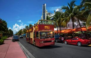 Miami Bus Tour - Multiple stops - 1 or 2-day Pass