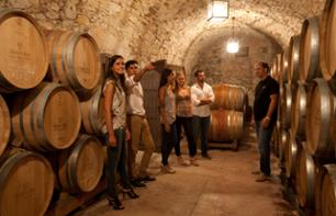 Half Day in Montserrat with Tour of a Vineyard and Wine Tasting – Small group