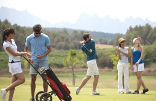 Full Day in Montserrat with Golf and Wine Tasting – Small group