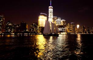 Sailboat Cruise in New York by Night