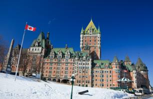 Winter Day Trip to Quebec City & Montmorency Falls