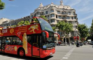 Barcelona Citytour: Hop-on, hop-off bus circuit – 1 or 2-day pass
