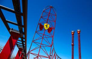 Tickets for PortAventura Amusement Park & Ferrari Land – Transport from Barcelona included - 1 day