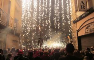 """Correfocs"" Festival – Fire-running Experience –Departing from Barcelona"