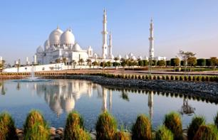 Excursion to Abu Dhabi: Visit to the Grand Mosque & Guided City Tour – Departing from Dubai