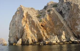 Excursion & Cruise Through the Fjords of Musandam in Oman