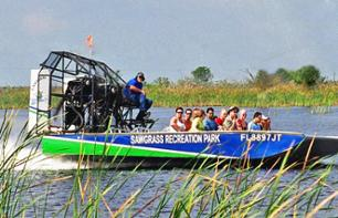 Airboat Tour of the Everglades & Visit to Sawgrass Recreation Park (40 mins from Miami / 20 mins from Fort Lauderdale)