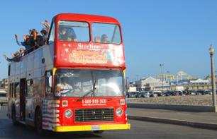 Hop-On Hop-Off Double-Decker Bus Tour – 1, 2 or 3 Day Pass
