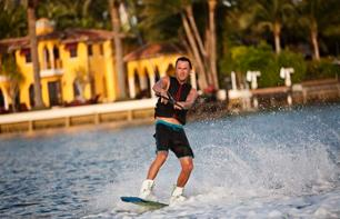 Water Sports on Miami Beach: Waterskiing, Wakeboarding, Towed Tubing and Surfing